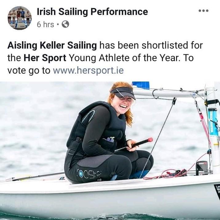 Aisling Keller Sailing
