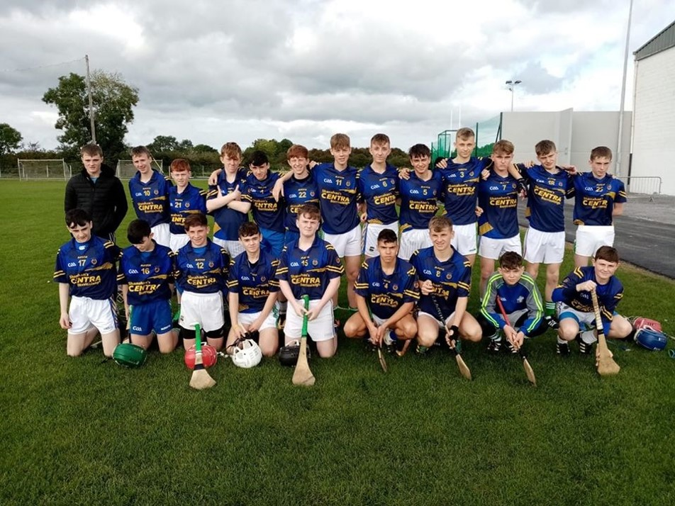 Well done to our u16 1/2 hurlers who had a great win over Colaiste Dun Iascaigh, Cahir. 2nd Oct 19