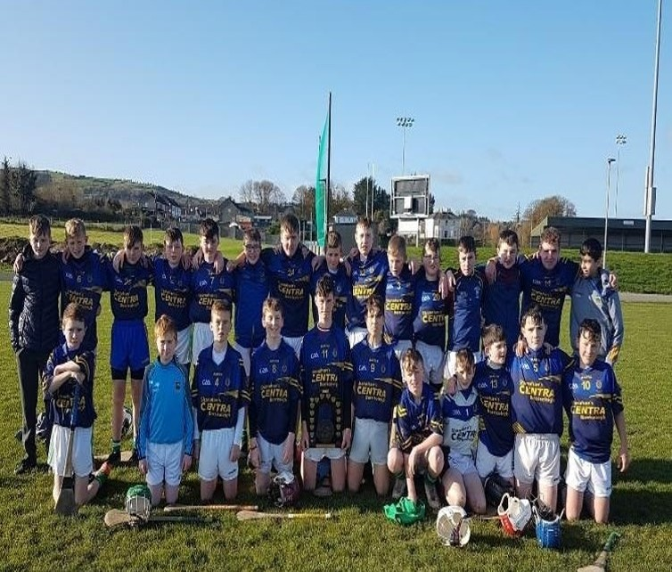 We are very proud of our 1st Year boys who had a great win today to become County 1st Year Hurling Champs. 12th November 19